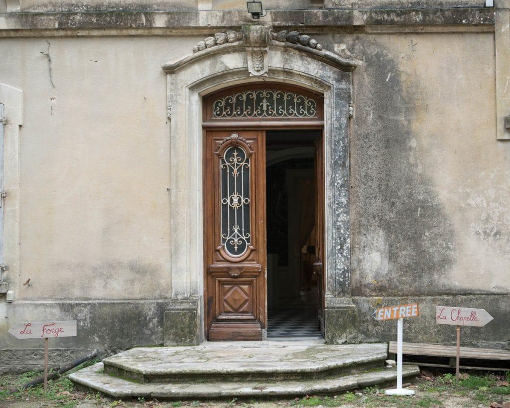 Entrée d'honneur, Collectif du Château de Verchaüs, Viviers, Ardèche, résidence, atelier