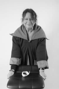 Mireille Merem Cluzet, plasticienne, résidente du Collectif du Château de Verchaüs, atelier, Ardèche, Viviers