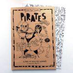 Cahier de jeux et de coloriages PIRATES - 10 €